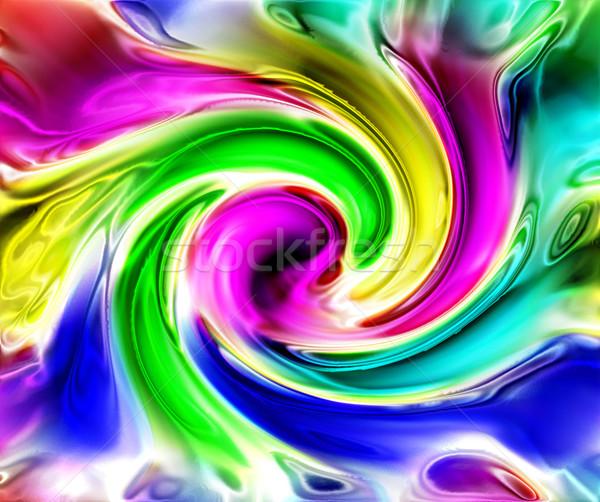 Absztrakt szín háttér számítógép festék technológia Stock fotó © jonnysek