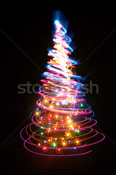 christmas tree Stock photo © jonnysek