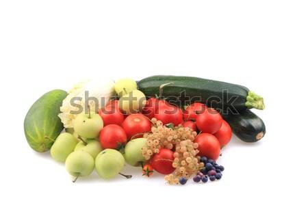fruit and vegetable from small farm  Stock photo © jonnysek