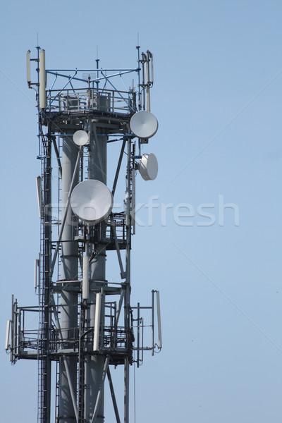 transciever tower Stock photo © jonnysek