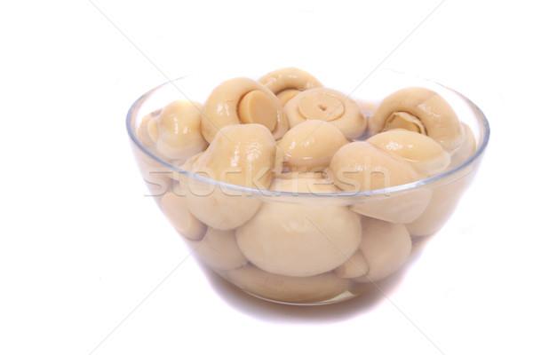mushrooms background Stock photo © jonnysek