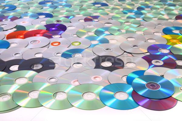 Płyta cd danych mediów nice technologii wideo Zdjęcia stock © jonnysek