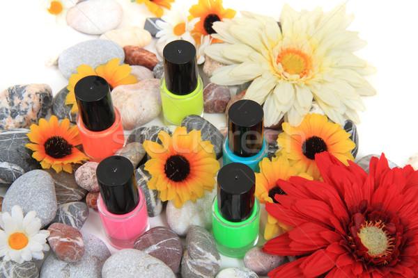 nail polish isolated on the white background Stock photo © jonnysek