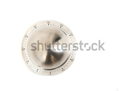 kitchen timer isolated on white Stock photo © jonnysek