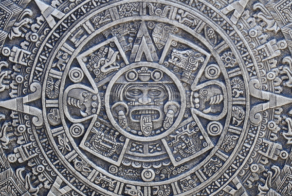 aztec history background  Stock photo © jonnysek
