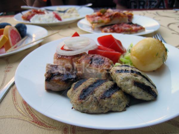 Bulgarian ground meat  Stock photo © jonnysek