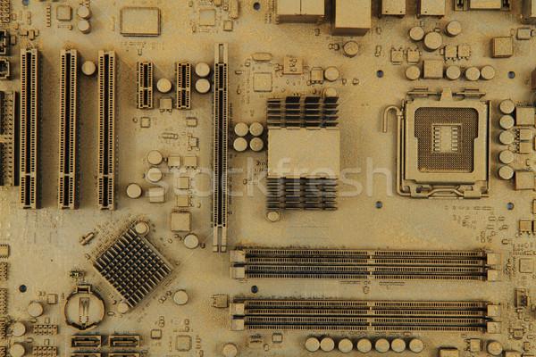 Ordinateur carte mère texture Nice technologie fond Photo stock © jonnysek