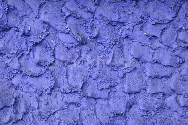 Azul concreto parede textura projeto fundo Foto stock © jonnysek