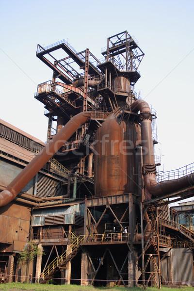 steel tower Stock photo © jonnysek