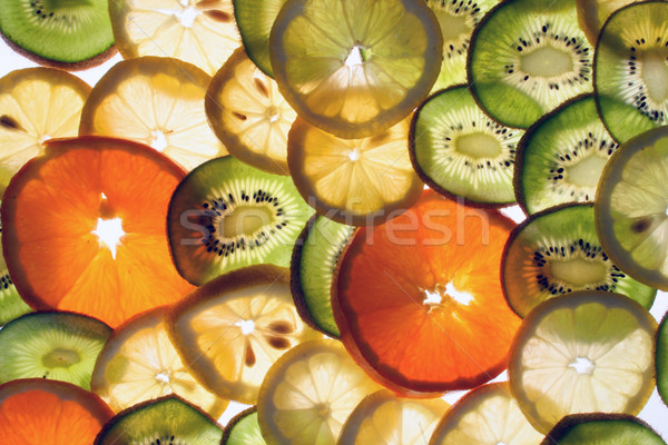 fruit slices Stock photo © jonnysek