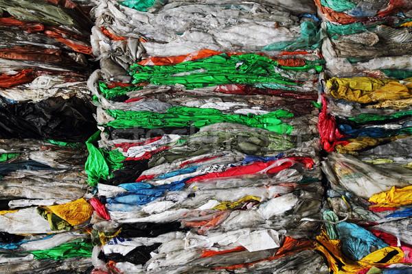 color plastic garbage Stock photo © jonnysek