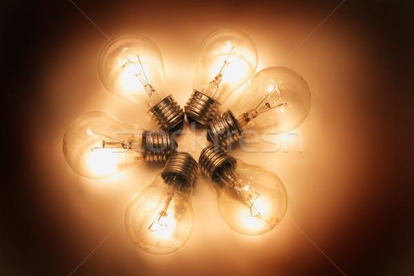 light bulbs Stock photo © jonnysek