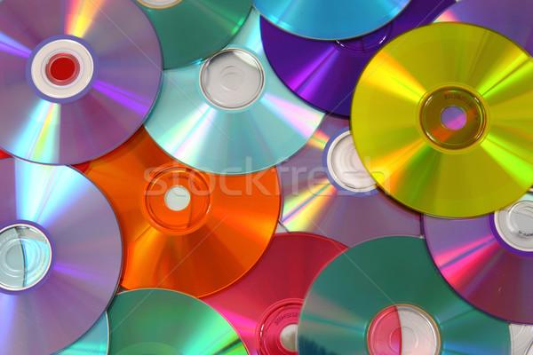 Cd szín technológia számítógép zene kommunikáció Stock fotó © jonnysek