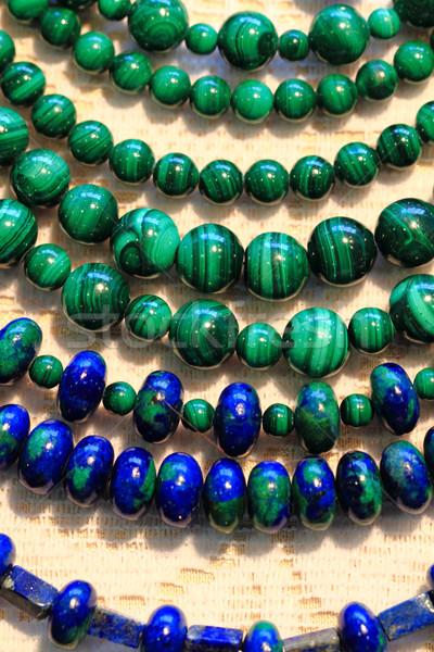 Foto stock: Malaquita · mineral · moda · agradable · naturales · textura