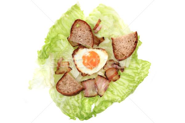 Sonka tojások szép étel háttér hús Stock fotó © jonnysek