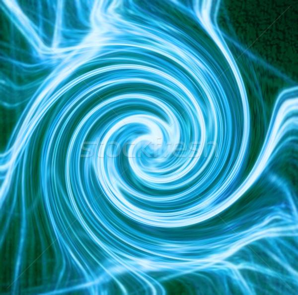 Abstract water gegenereerde textuur verf technologie Stockfoto © jonnysek