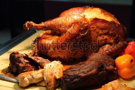 Турция гриль традиционный продовольствие нефть мяса Сток-фото © jonnysek