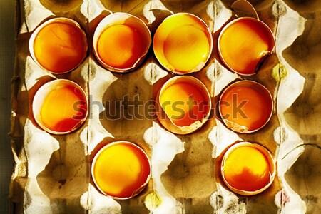 Stock photo: eggs
