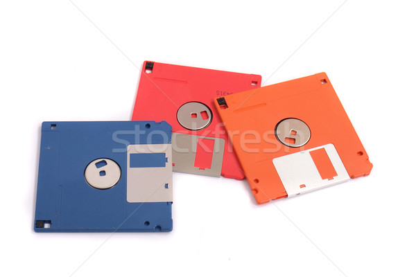 floppy disks Stock photo © jonnysek