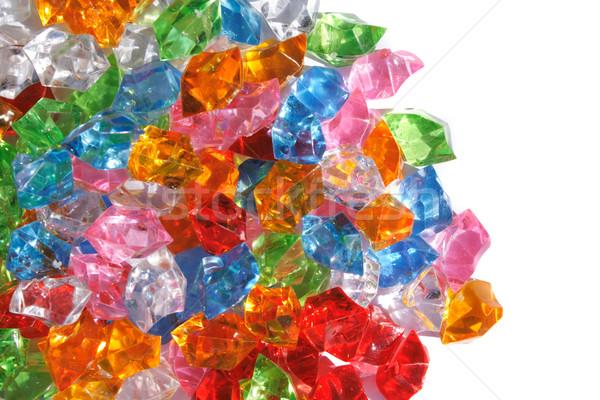 color plastic diamonds  Stock photo © jonnysek