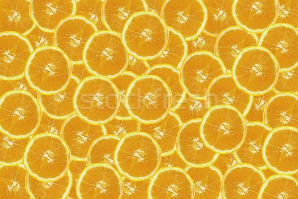 orange background Stock photo © jonnysek