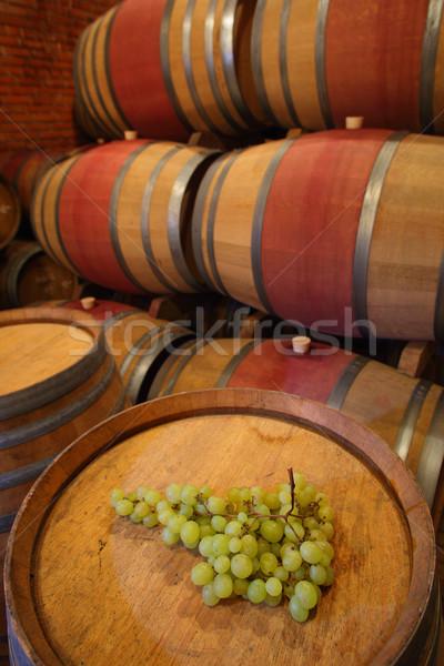 Vinho comida madeira bar beber escuro Foto stock © joruba
