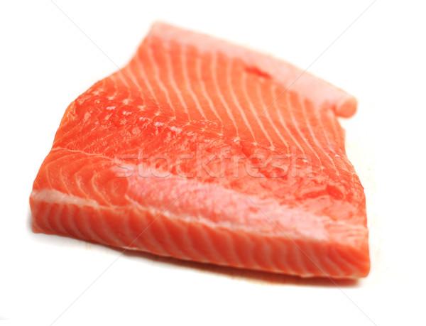 Carne salmão branco textura mar Foto stock © joruba