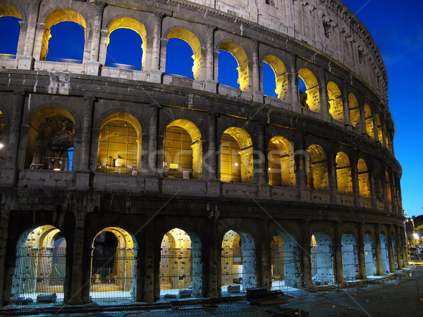 The Colosseum, Rome Stock photo © joruba