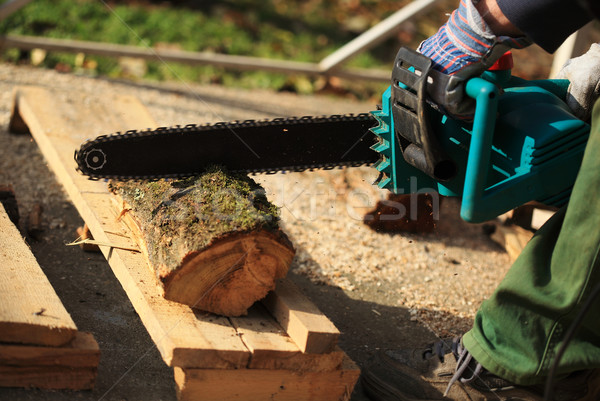 Chainsaw Stock photo © joruba