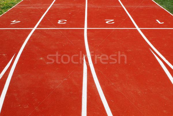 athletic venue tracks Stock photo © joruba