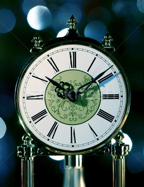 Antique clock Stock photo © joruba