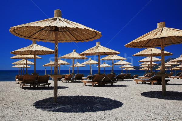 Playa agradable vacaciones Foto mar verano Foto stock © joruba