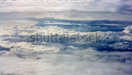 Fantastyczny chmury charakter piękna ciemne Zdjęcia stock © joseph73