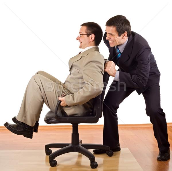 Two businessmen relaxing Stock photo © joseph73