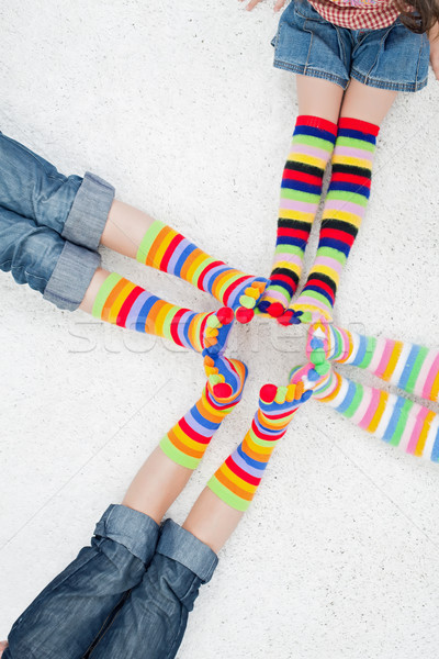 Colorful socks Stock photo © joseph73