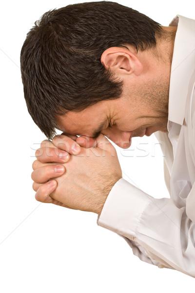 Pray parson Stock photo © joseph73