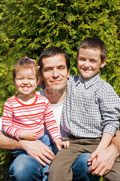 Happy family Stock photo © joseph73