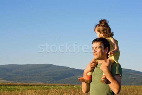 Summer afternoon walk Stock photo © joseph73
