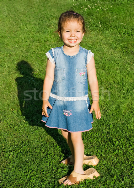Little girl smiling Stock photo © joseph73