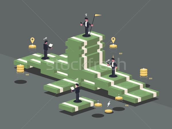 Pile of money Stock photo © jossdiim
