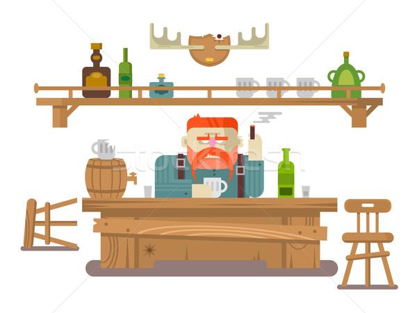 Interior of the bar Stock photo © jossdiim