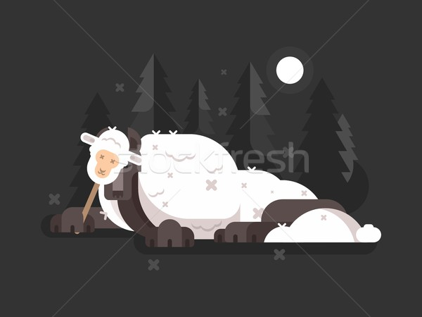 Wolf in sheeps clothing Stock photo © jossdiim