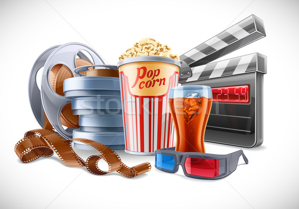 Movie Elements  Stock photo © jossdiim