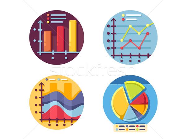 бизнеса Финансы данные Сток-фото © jossdiim