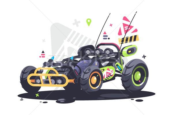 Stock photo: Racing car buggy