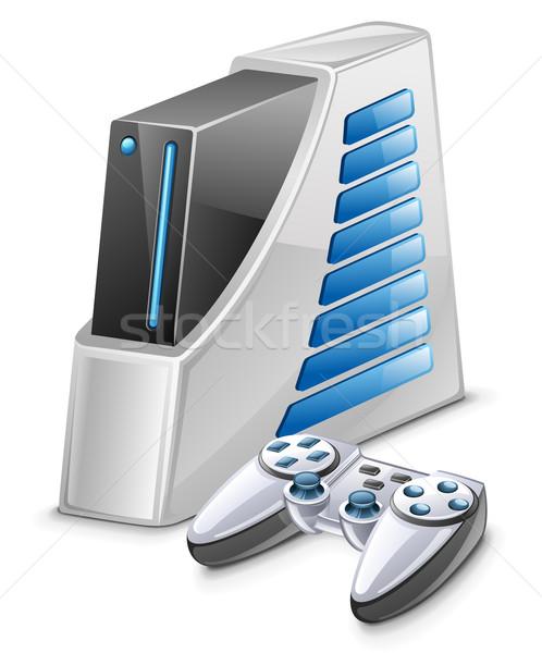 игры утешить белый компьютер технологий видео Сток-фото © jossdiim