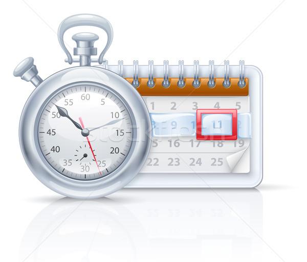 Chronometer and calendar  Stock photo © jossdiim