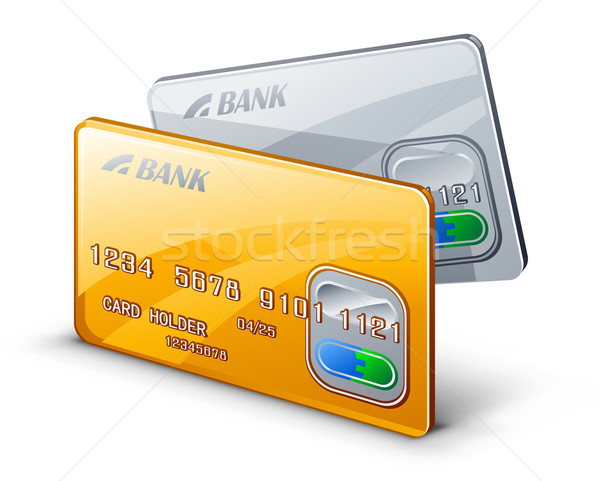 Credit cards Stock photo © jossdiim