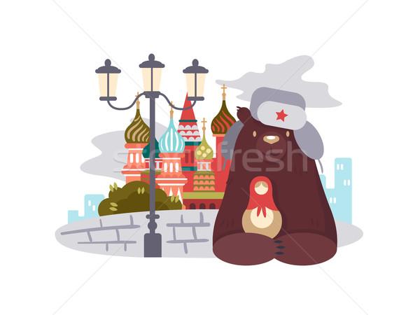 City of Moscow Stock photo © jossdiim