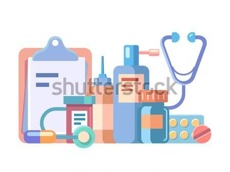 Blood donation concept Stock photo © jossdiim